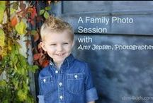 Family Photo Ops / Ideas for taking family and kid photos.