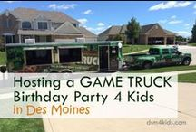 Game Themed Parties 4 Kids / Invitation, decoration, food and favor ideas for a game themed birthday party for kids.