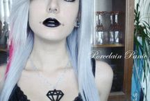 Make up c: / My gothic style c: / by Alexis Richard