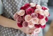 Paper flowers/Flori din hartie colorata / We create, at your choice, colored paper flowers. For more infos visit our facebook  page CATELIER Realizam , la alegere, aranjamente din hartie. Pentru mai multe informatii, vizitati pagina de facebook CATELIER