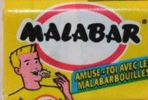 Nostalgie - Mes bonbons d'enfant / Toutes les sucreries que je mangeais quand j'étais petite!