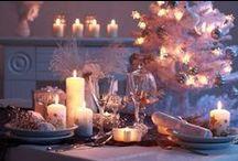 Natale a tavola / Idee per apparecchiare la tavola nei giorni di festa. #apparecchiare #natale #christmas #settings