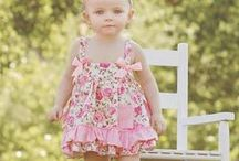 Spring & Summer Outfits / We have a lot of new and adorable outfits in all sizes from 0-6 to size 8. Come check them out!