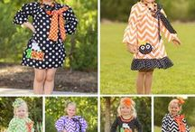 Fall Boutique Outfits / Toddler boutique outfits for Fall