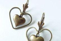 Bijoux - Boucles d'oreilles / Des boucles d'oreilles originales et simples à réaliser