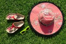 Hats & Picnic / Now you've made your hat where are you going to wear it? Picnics, parks, or just the backyard are perfect!