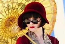 Miss Phryne Fisher / Originally incorporated in 'do they sew in the movies', I've realised the Australian TV series about a gloriously dressed lady detective deserves a board of it's own. It's filmed in my home town! Costumes are designed by Marion Boyce who was also responsible for the costumes in the movie 'The Dressmaker'.