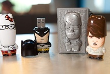 MIMOBOT / Mimobot designer USB flash drive. Art toy with a digital soul.