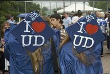 #BlueHensForever / University of Delaware grad cap decorations, commencement and beyond