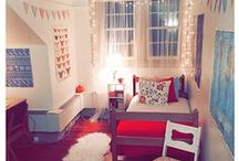 Rockin' Rooms / Residence hall and dorm room inspiration from some of our most clever interior designers.  / by University of Delaware