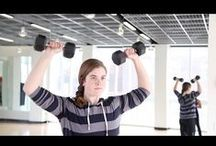 Health and Fitness / Fitness videos, workout playlists and graphics to inspire you as you get after it in the gym or during home workout sessions! Burn those calories, find your inner chi and work toward a healthier you.  / by University of Delaware