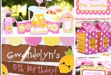 Pink Lemonade Party Ideas / A few ideas for your summer party!