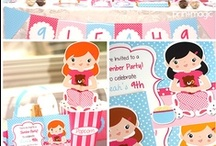 Slumber Party Birthday Party Ideas / Ideas for the next sleep over you're hosting.