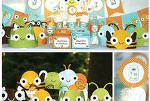 Bug Party Ideas / Party ideas for your next bug or outdoors themed party!