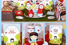 Snow White Birthday Party Ideas / Party ideas for your Snow White themed party.