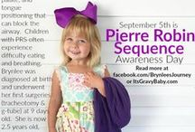 Brynlee's Journey / Brynlee was born December 7, 2013 and diagnosed with Pierre Robin Sequence.  She spent 20 days in the NICU and underwent a tracheostomy and g-tube insertion at 9 days old.  This is her journey.