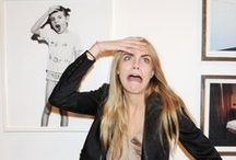Cara Delevingne Obsession / by Katie Nissen