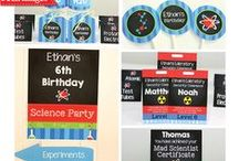 Science Party Ideas / Ideas for your next science party