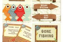 Fishing Party Birthday Party Ideas / Ideas for your Fishing Birthday Party