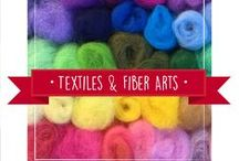 Textiles & Fiber Arts / by Dragonfly Designs