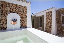 A set of scattered Rooms / Torralbenc Hotel includes different rooms: Alaior, Superior, Sea View, Garden Cottage and Pool Cottage.
