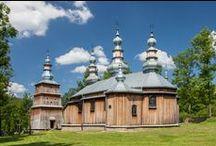 Podkarpackie: Lista Światowego Dziedzictwa UNESCO / UNESCO World Heritage List  / Drewniane arcydzieła architektury / Wooden Masterpieces of Architecture