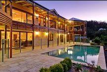 Sandstone Queenslanders / Sand Stone Queenslanders designed by Garth Chapman Traditional Queenslanders.