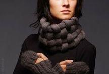 Pletení a vyšívání_knitting and embroidery  / zajímavé pletení