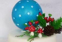 ,, Weinachtszeit,, cake / torty,dekoracie,inspiracie