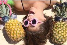 Hawaii / A coleção Hawaii traz tees, macaquinhos, shorts e tricôs desejo que são a cara do verão!