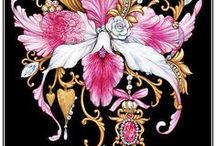 Художник-иллюстратор Мария Рытова / иллюстрации,паттерн, цветы Рытовой Марии