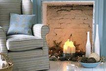 fake fireplace / fake fireplace in apartment