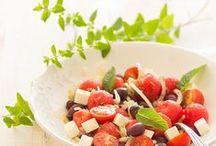 Ensaladas de verano / Summer Salads