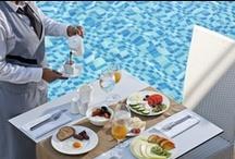 Neptune Restaurant / Neptune a la carte restaurant. #Lesante #Zakynthos #Zante #Greece / by Lesante Hotel & Spa