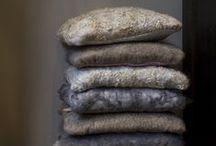 Viltwerken / werken gemaakt met vilt van echte, pure wol