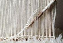 Weefwerken / werken gemaakt door middel van de weeftechniek met echte, pure wol