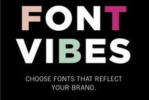 Fonts & Typography / Fonts and Typography for blogs and websites