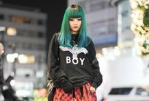 street style / mostly asian street style inspiration