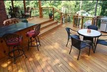 Decks / Decking as elegant extension of the home.