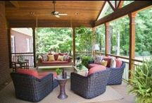 Porches / Open-air and screened porches to enhance a home.