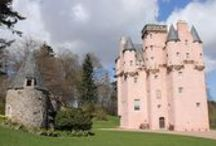 Scottish Castles & Palaces / Scotland is home to some of the most fantastic castles in the world and many are cared for by the National Trust for Scotland.