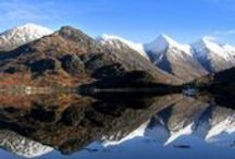 Scottish Mountains / See some of the spectacular mountain scenery from around Scotland. This collection of images is from countryside which is cared for by the National Trust for Scotland.