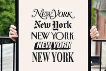 NYC Typography