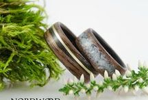 Bentwood rings - with inlays