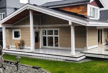 Ioco addition and deck / Owner is finishing up the project from here on