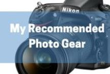 Photo Equipment & Resources / A collection of valuable photography resources and recommended equipment for improving your landscape and outdoor photography.