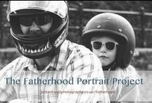 The Fatherhood Project / A series of Portraits of Fathers and their children by UK Portrait Photographer, Jo Blackwell, celebrating men who flourish in their caring roles. https://www.facebook.com/FatherhoodPortraitProject/