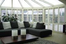 Conservatory Shutters / Conservatory shutters can be crafted to fit just about any conservatory no matter the size, shape or complexity. Our elegant conservatory shutters not only look highly stylish, but they offer a highly practical window covering for your conservatory too and comes in a wide range of styles and options to suit your every need and requirement. https://www.s-craft.co.uk/conservatory-shutters/