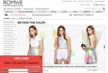 Romwe Coupons, Promo Codes & Discount Offers / This Page is created to share Romwe Coupons, promo codes, discount offers, deals & more. This is NOT an official page of Romwe. / by Coupon Codes