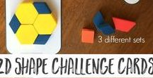 Learning About Shapes / Learn how to match, recognize, and sort all different kinds of shapes! Here's some shape activities perfect for kids of any age. There's something for everyone!